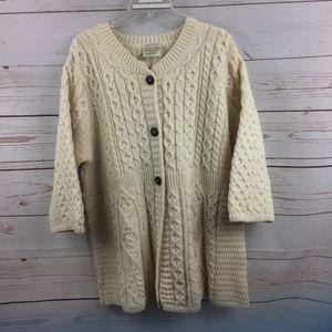 Kilronan Knitwear Fisherman Sweater
